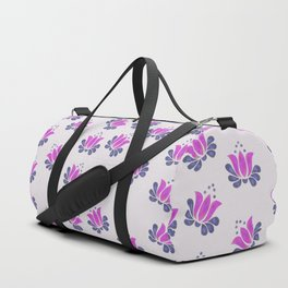 Born of Lotus Abstract Art Duffle Bag