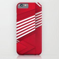 Optical illusion_red Slim Case iPhone 6s