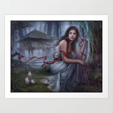 Night unseen Art Print
