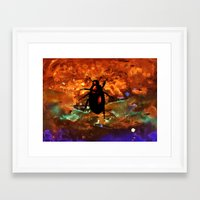 beetle Framed Art Prints featuring Beetle by Mikhaelle A.