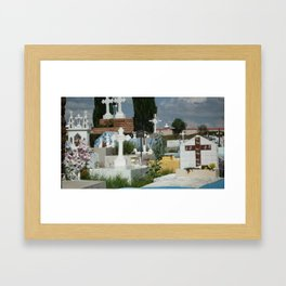 cemetary Framed Art Print