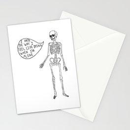Joyce Manor Skeleton Stationery Cards