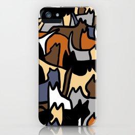 Cat Hoarding iPhone Case