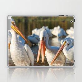 Three Birds Walk Into A Bar Laptop & iPad Skin