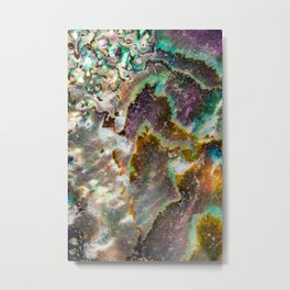 Mother of Pearl Essence Metal Print