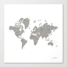 World News Canvas Print