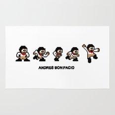 8-bit Andres 5 pose v1 Rug