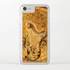 Golden harp Clear iPhone Case