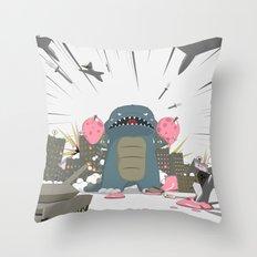 Godzelato! - Series 3: Eat this! Throw Pillow