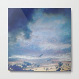 #sky - nature photography Metal Print