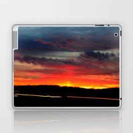 Night Lights Moving Sunset 21 Laptop & iPad Skin