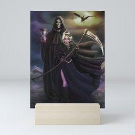 Grim Reapers Mini Art Print