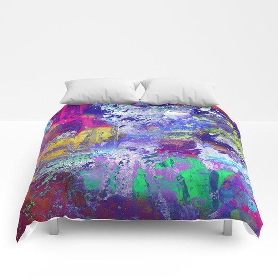 Rainbow Anguish Comforters