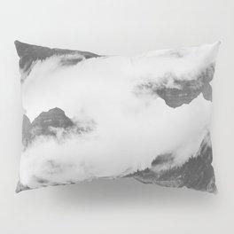 Misty Mountain II B&W Pillow Sham