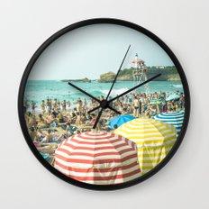 Colorful holiday Wall Clock