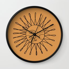 Live by the Sun Wall Clock