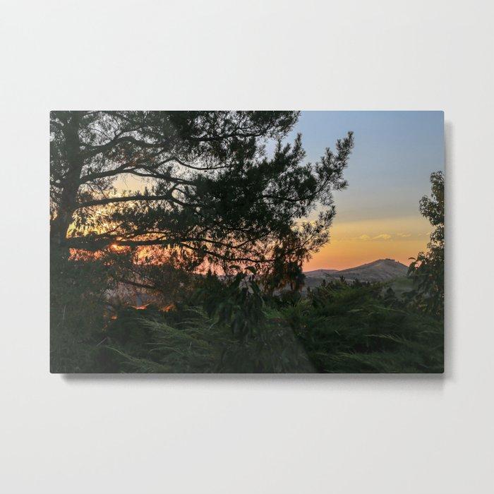 Sunset in Idaho Metal Print