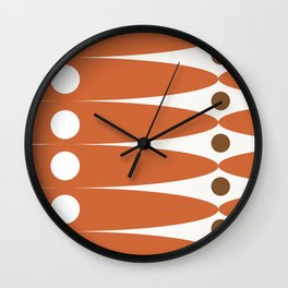 Retro geometric: Documentar el infinito Wall Clock