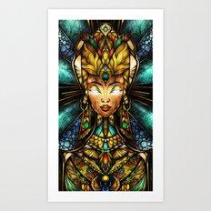 Nefertiti Art Print