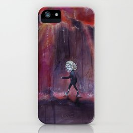 Out of Nowhere iPhone Case