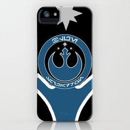 Blue Squadron (Resistance) iPhone Case