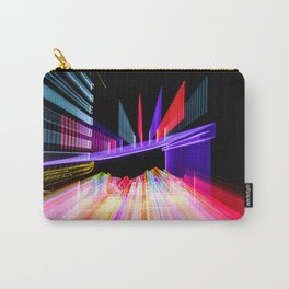 Moving Out zoom burst photograph Fremont Theater San Luis Carry-All Pouch