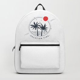 Palms. Geometric Style Backpack