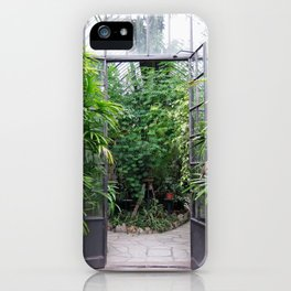 Greenhouse on Isola Bella, Italy iPhone Case