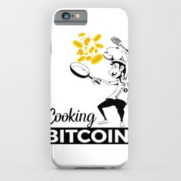 Cooking Bitcoin iPhone Case