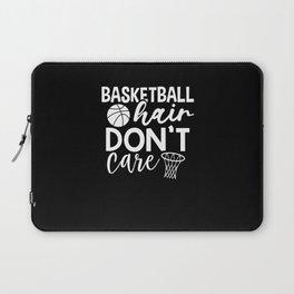 Basketball hair dont care Laptop Sleeve