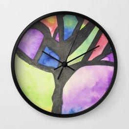 Tree of Faith Wall Clock