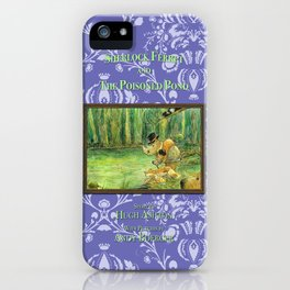 Sherlock Ferret and the Poisoned Pond (cover) iPhone Case