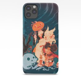 Spooky Books iPhone Case