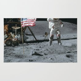 Apollo 16 - Astronaut Moon Jump Rug