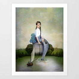 Loreley Art Print