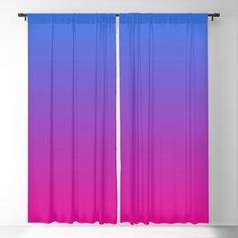 Vibrant Blue, Purple & Pink Gradient Color Blackout Curtain