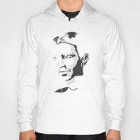 tesla Hoodies featuring Nikola Tesla by The Cracked Dispensary