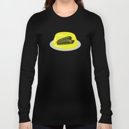 Stapler In Jello, Office Prank For The Brave Design, Original Funny Gift Idea, Dwight Best Quote Fro Long Sleeve T-shirt
