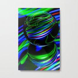The Light Painter 26 Metal Print