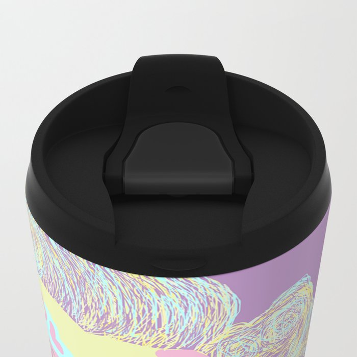 Marilyn M Metal Travel Mug