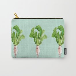Radish Carry-All Pouch