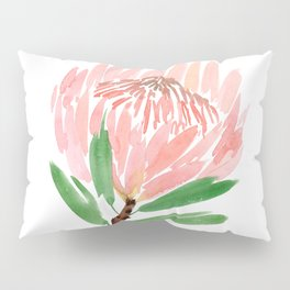 King Protea in Blush Pink Pillow Sham