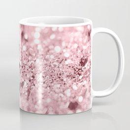 Rose Gold Blush Girls Glitter #1 #shiny #decor #art #society6 Coffee Mug
