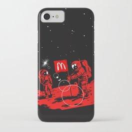 First we take Manhattan, Then we take Mars iPhone Case
