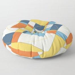 Fibonacci Experiment V Floor Pillow