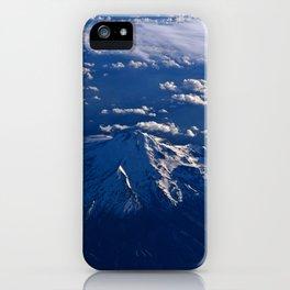 Mt. Hood Aerial iPhone Case