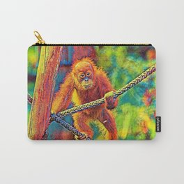 AnimalColor_OrangUtan_014_by_JAMColors Carry-All Pouch