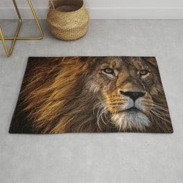 Majestic Lion Rug