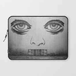 If this wall could talk Laptop Sleeve