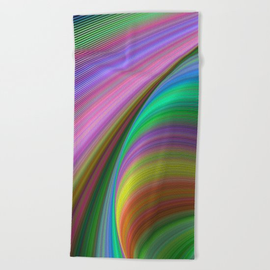 Rainbow dream Beach Towel